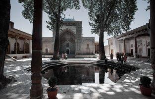 Kodja Abdi Darun Mosque and Mausoleum Complex, Samarkand, Uzbekistan.